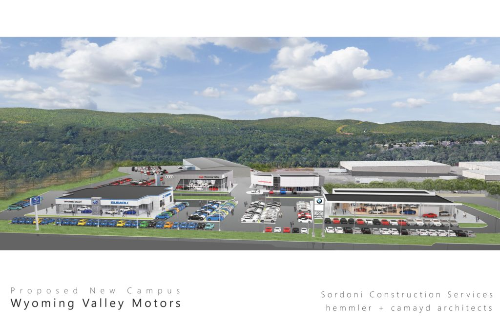 Wyoming Valley Motors Makes Its Move Sordoni Construction
